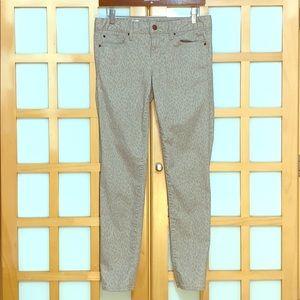 🍀Gap 1969 Always Skinny Animal Print Jeans